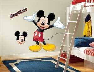 Mickey Mouse Giant Wall Decal Sticker Decor Appliqué