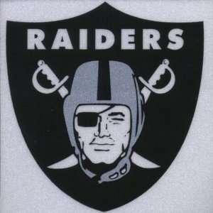 Oakland Raiders   Logo Reflective Decal: Automotive