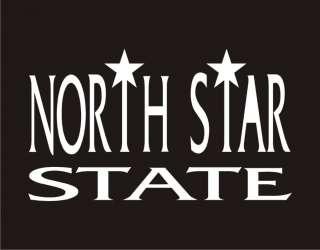 NORTH STAR STATE Funny T Shirt Minnesota Nickname Tee