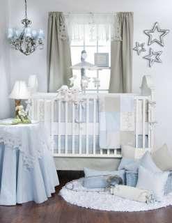 Twinkle Twinkle 4 pc BOY Glenna Jean Crib BABY Nursery Bedding Set NEW
