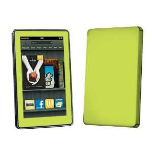 Lime Green Vinyl Protection Decal Skin  Kindle Fire