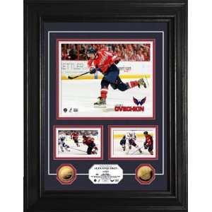Alexander Ovechkin Washington Capitals NHL Gold Coin 3