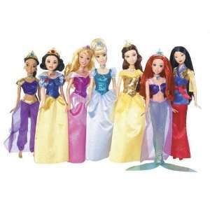 Disney Princess Shimmer Doll Collection Toys & Games