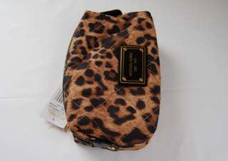 Michael Kors Grayson Leopard Large Satchel + Large Cosmetic Case