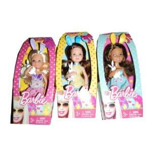 Barbie Easter Mini Doll: Toys & Games