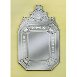 New Roxanne Hand Carved Venetian Wall Mounted Mirror
