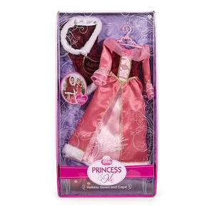 Disney Princess & Me Doll Dress Gown & Cape Set   Belle for 18 doll