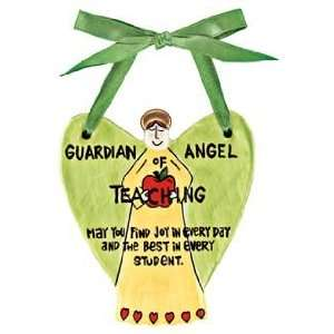 Guardian Angel Of Teaching Wall Plaque: Home & Kitchen