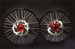 New Honda CR CRF Front Moto X Wheel Rim Red Hub 21