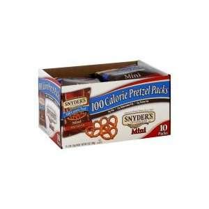 Snyders of Hanover 100 Calorie Pack Pretzels, Mini, 9 oz