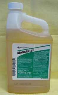 DIMENSION 2EW Spec Herbicide, Pre/Post Emerge.1/2 Gal |