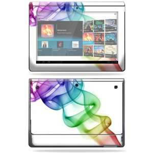 Protective Vinyl Skin Decal Cover for Sony Tablet S Smokey