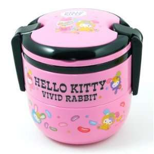 Hello Kitty Tiffin Lunch Box Candy Pink Sports