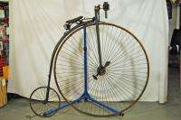 Antique 1880s Pope Columbia High wheeler Penny Farthing bike bicycle