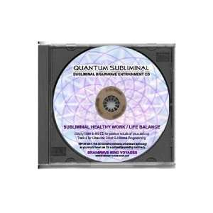 BMV Quantum Subliminal CD Healthy Work Life Balance