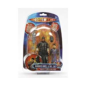 Doctor Who 5 Classic Series Magnus Greel & Mr Sin Toys