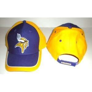 NFL Minnesota Vikings Yellow Tipped Stadium Hat Cap Lid