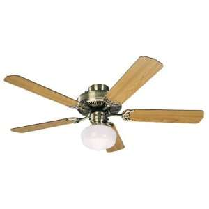 Air King 9815L 52 Electric Ceiling Fan with Schoolhouse