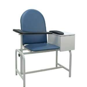 `Padded Blood Drawing Chair w/ Cabinet Health & Personal