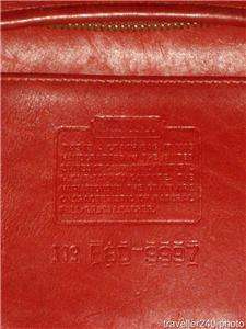 in Scarlet Red Leather, Style No. 9997, Great Pre Owned Condition