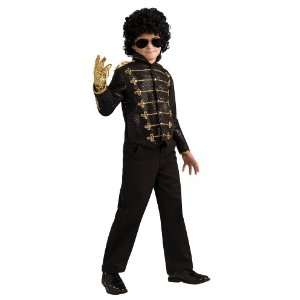 Party By Rubies Costumes Michael Jackson Deluxe Black Military Jacket