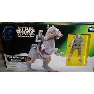 SW6 STAR WARS LUKE SKYWALKER AND TAUNTAUN MIB