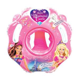 Baby swim aid floats neck collar inflatable tube ring for Barbie chien piscine
