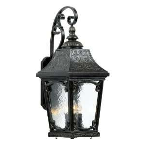 Quoizel Idlewild 30 Inch Large Wall Lantern with Clear Water Glass