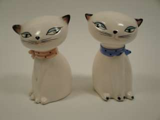 Vintage Holt Howard COZY KITTEN S&P Shakers * NO MEOW