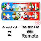 Super Mario Bros Sunshine Sticker SKIN #1 Nintendo Wii