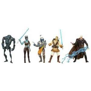 Star Wars Battle Pack 5 figurines Ambush on Ilum 10 cm Toys & Games