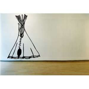 Indian Tee pee Vinyl Wall Decal Sticker Graphic