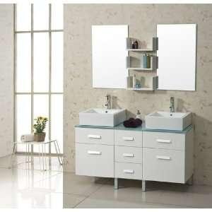 Virtu Usa Um 3069 S Bl Tilda 40 Inch Single Sink Bathroom Vanity White Stone Countertop Ceramic
