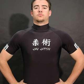 Adidas Jiu Jitsu Lycra Rashguard T Shirt