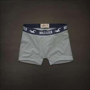Hollister men Heather grey boxer Brief underwear