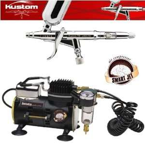 Iwata Kustom Kustom TR Airbrushing System with Smart Jet