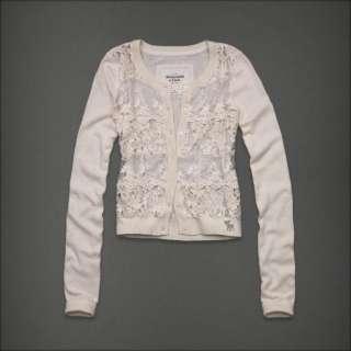Authentic NWT Abercrombie & Fitch Women Jessa Sweater Cardigan Shirt