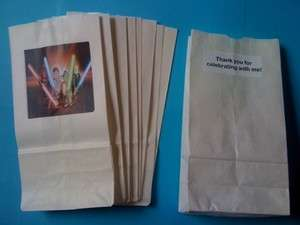 12 Star Wars Lego Party Favor Loot Bags