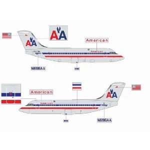 Jet X 200 American BAe146 200 N696AA Model Airplane