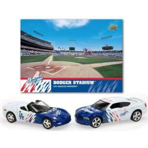 Upper Deck Los Angeles Dodgers 2008 MLB Dodge Charger and Chevrolet