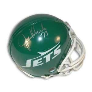 Joe Klecko Autographed New York Jets Mini Helmet Sports