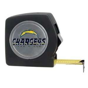San Diego Chargers Black Tape Measure
