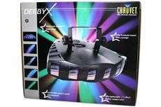 DERBY X DMX 512 Multi Colored LED Derby Club DJ Light Effect DERBYX