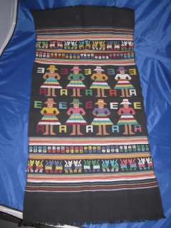 Guatemala Textile Handmade Table Runner Culture People
