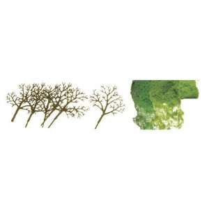 JTT Premium Tree Kits   Deciduous 3 to 4 16/pk (0592018