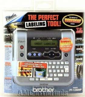 Brother PT 1280 Handheld/Desktop Label Maker NIP