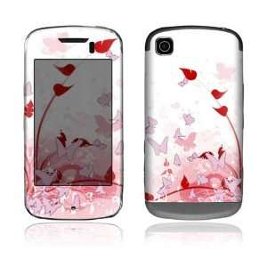 LG Shine Touch Decal Skin Sticker   Pink Butterfly Fantasy