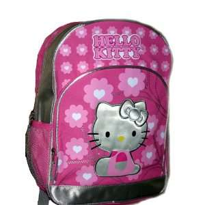 Sanrio Hello Kitty LARGE School Backpack Bag Tote Heart