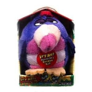 KooKoo Birds 2.5 inch Plush 3 Feathered Doofusina w/sound