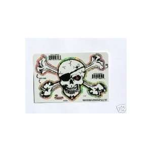 Pirate Skull & Crossbones   Sticker / Decal S 3608
